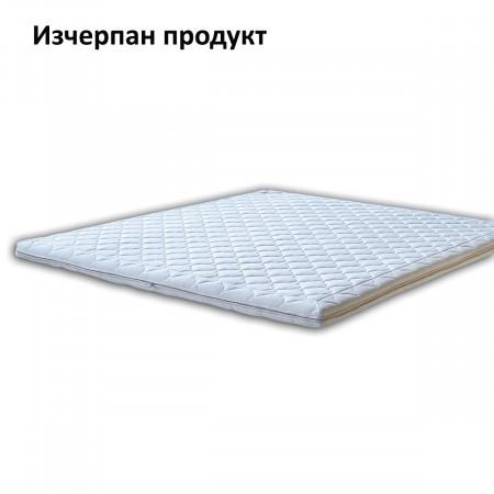 Топ матрак Комфорт, 9 см с цип - ХЕГРА