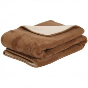Вълнено одеяло Camel от камилска и мериносова вълна – PRIMO HOME