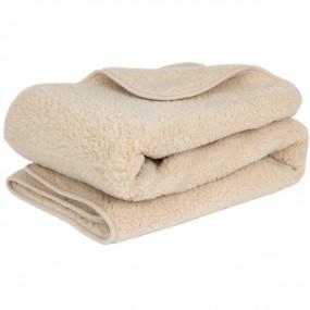 Вълнено одеяло Nut от естествена мериносова вълна – PRIMO HOME