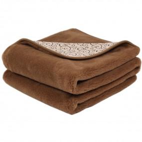 Вълнено одеяло Etno от естествена вълна и памук – PRIMO HOME