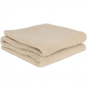 Вълнено одеяло Almond от естествена мериносова вълна – PRIMO HOME