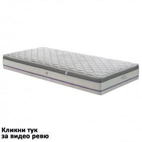 Матрак Каспия Visko Pocket Spring, 24 см еднолицев - НАНИ