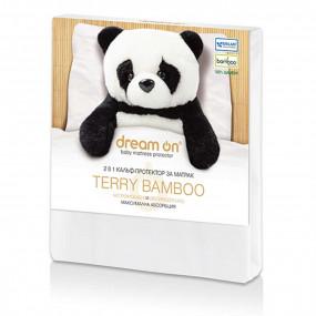 Непромокаем протектор Terry Bamboo детски – DREAM ON