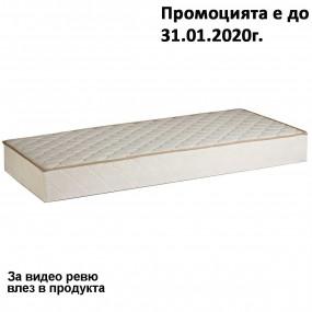 Матрак Classic с дунапрен, 19 см еднолицев - PARADISE