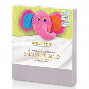 Непромокаем протектор Smartcel Gold ecru детски – DREAM ON