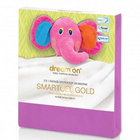 Непромокаем протектор Smartcel Gold fuxia детски – DREAM ON