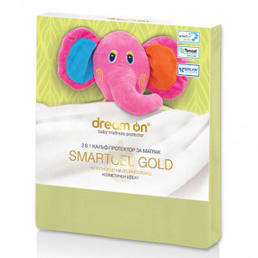 Непромокаем протектор Smartcel Gold green детски – DREAM ON