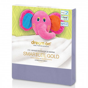 Непромокаем протектор Smartcel Gold grey детски – DREAM ON
