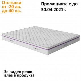 Матрак Каспия Pocket Spring, 22 см еднолицев - НАНИ