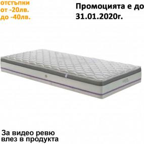 Матрак Каспия Мемори Pocket Spring, 24 см еднолицев - НАНИ