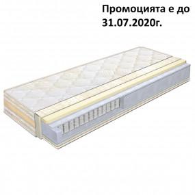 Матрак Мемори Елеганс 7 зони усилен, 25 см - КЛАСИК