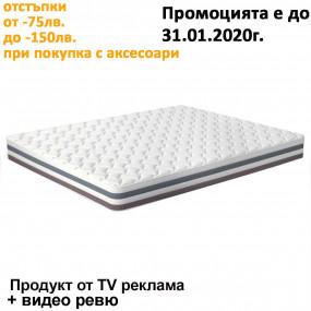Матрак Memory Relax, 20 см - iSLEEP