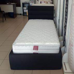 МОСТРА Тапицирано легло Палома 1, черно - ВИКИ (Sf)