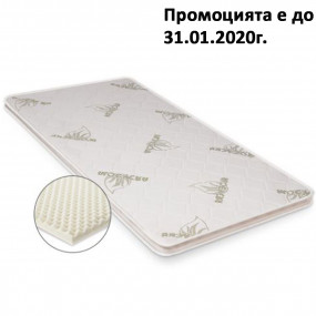 Топ матрак Релакс, 6 см - БЛЯН