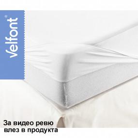 Чаршаф-Протектор за матрак Respira White - VELFONT