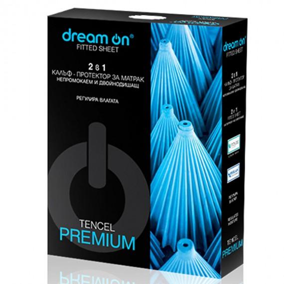 Непромокаем протектор Premium за матрак от 25 см до 35 см - DREAM ON 1