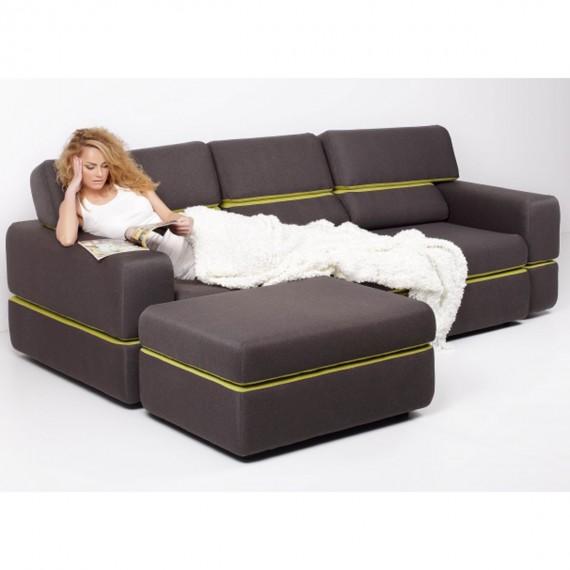 Разтегателен диван Open - ERGODESIGN 1