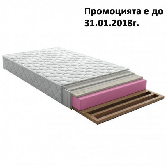 Матрак Понто Мемори, 17 см еднолицев - НАНИ