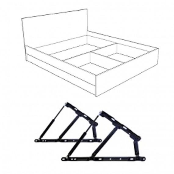 Тапицирано легло Гала - BRAVA 1