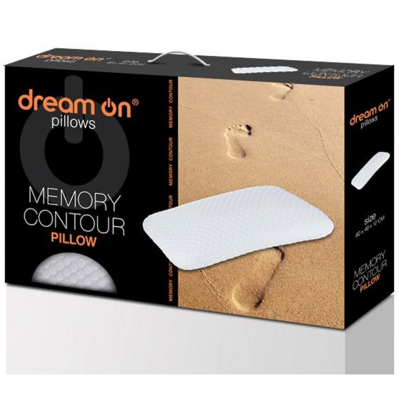 Възглавница Memory Countour - DREAM ON 3