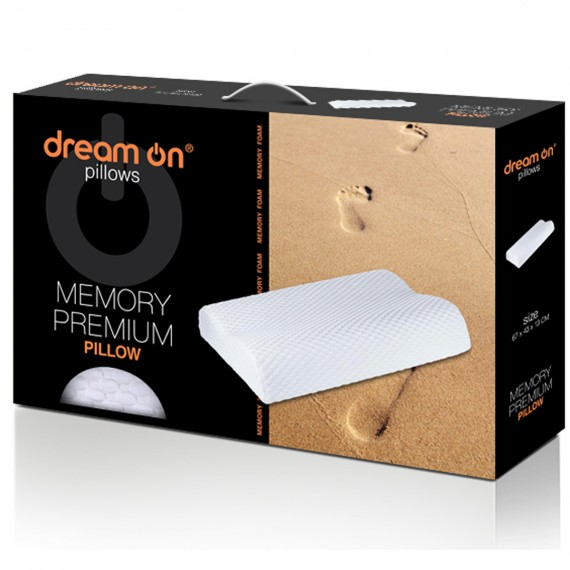 Възглавница Memory Premium – DREAM ON 3