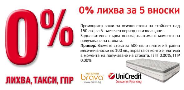 матраци тед на изплащане На изплащане с 0% лихва за 5 месеца   Brava.bg матраци тед на изплащане